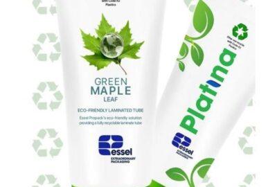 Essel Propack (Эссел Пропак) сертифицировала тубы как пригодные к повторной переработке