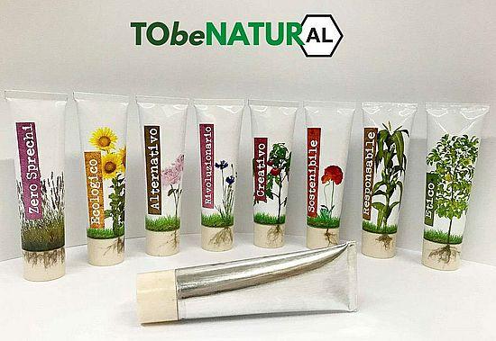 Итальянский производитель алюминиевых туб Tubettificio Favia предлагает тубы с биодеградирующим бушоном.